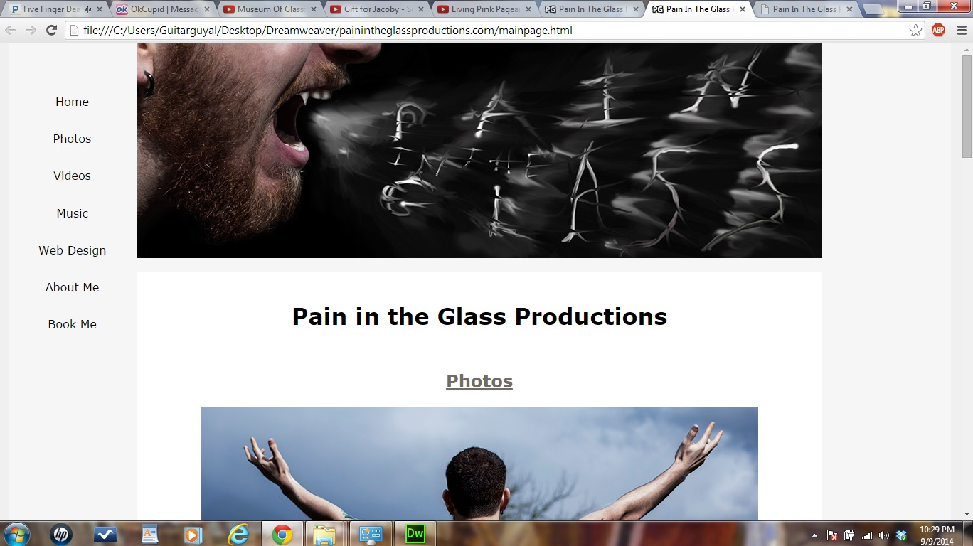 Pain in the Glass Productions